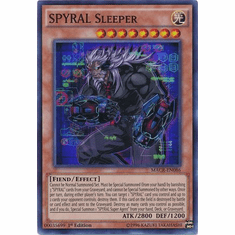SPYRAL Sleeper MACR-EN086 Super Rare - YuGiOh Maximum Crisis Card