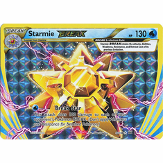 Starmie 32/108 Break Rare - Pokemon XY Evolutions Single Card