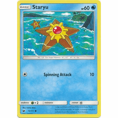 Staryu 15/111 Common - Pokemon Crimson Invasion Card