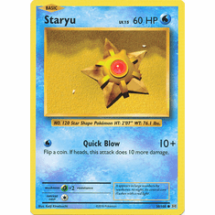 Staryu 30/108 Common - Pokemon XY Evolutions Single Card