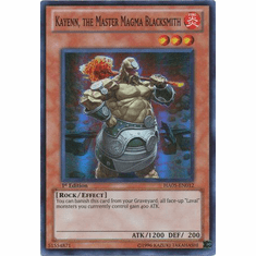 Steelswarm Invasion - HA05-EN012 Kayenn, the Master Magma Blacksmith