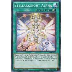 Stellarknight Alpha DUEA-EN057 - Common Duelist Alliance Card