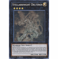 Stellarknight Delteros DUEA-EN053 - Ghost Rare Duelist Alliance Card