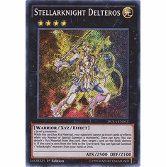 Stellarknight Delteros DUEA-EN053 - SECRET RARE Duelist Alliance Card