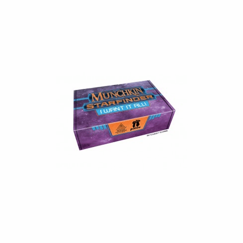 Steve Jackson Games SJG4476 Munchkin Starfinder I Want it All Board Games