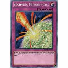 Storming Mirror Force CORE-EN076 Secret Rare - YuGiOh Clash of Rebellions Card