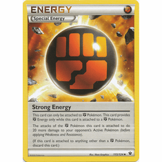 Strong Energy 115/124 Uncommon - Pokemon XY Fates Collide Card