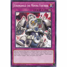 Stronghold the Moving Fortress DPRP-EN024 Common - YuGiOh Rivals Of The Pharaoh Card