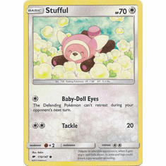 Stufful 110/147 Common - Pokemon Sun & Moon Burning Shadows Card