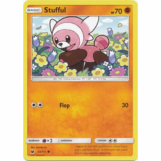 Stufful 55/111 Common - Pokemon Crimson Invasion Card