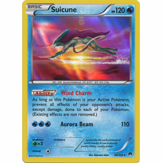 Suicune 30/122 Holo - Pokemon XY Breakpoint Card