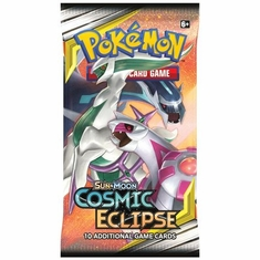 Sun & Moon Cosmic Eclipse Booster Pack (Pokemon) Pokemon Sealed Product