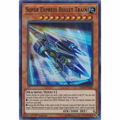 Super Express Bullet Train YuGiOh � Legendary Duelists: Sisters of the Rose Ultra Rare