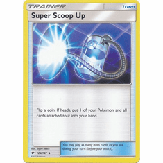 Super Scoop Up 124/147 Uncommon - Pokemon Sun & Moon Burning Shadows Card