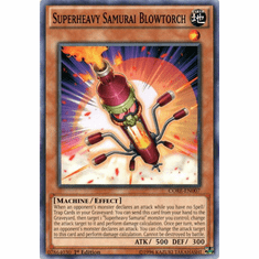 Superheavy Samurai Blowtorch CORE-EN007 Common - YuGiOh Clash of Rebellions Card