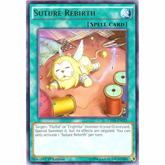 Suture Rebirth CROS-EN055 Rare - YuGiOh Crossed Souls Card