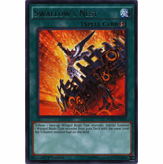 Swallow's Nest WIRA-EN054 Rare - YuGiOh Wing Raiders Card
