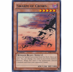 Swarm of Crows SHSP-EN042 - YuGiOh Shadow Specters Rare Card