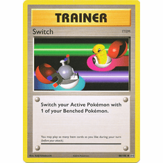Switch 88/108 Uncommon - Pokemon XY Evolutions Single Card