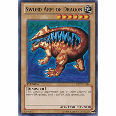 Sword Arm of Dragon LCJW-EN146 - YuGiOh Joey's World Common Card