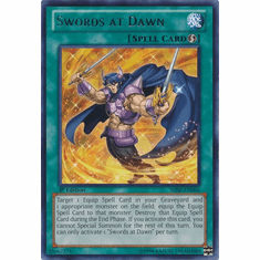 Swords at Dawn SHSP-EN066 - YuGiOh Shadow Specters Rare Card