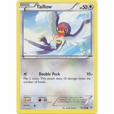 Taillow 70/108 Common - Pokemon XY Roaring Skies Card