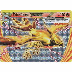 Talonflame BREAK 21/114 Rare BREAK - Pokemon XY Steam Siege Card