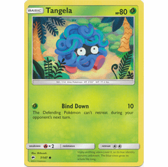 Tangela 7/147 Common - Pokemon Sun & Moon Burning Shadows Card
