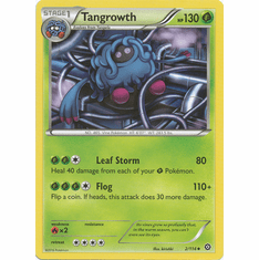 Tangrowth 2/114 Uncommon - Pokemon XY Steam Siege Card