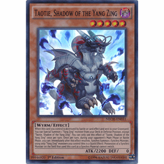 Taotie, Shadow of the Yang Zing NECH-EN031 - Super Rare The New Challengers