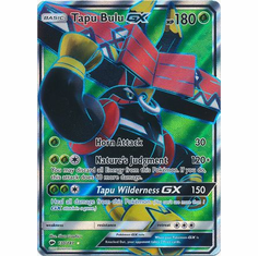 Tapu Bulu GX 130/147 Full Art - Pokemon Sun & Moon Burning Shadows Card