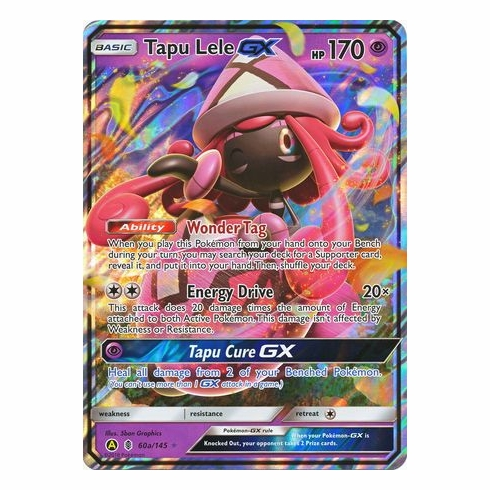 Tapu Lele GX - 60a/145 - Alternate Art Promo