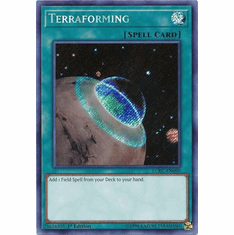Terraforming LCKC-EN090 Secret Rare - Legendary Collection Kaiba