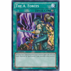 The A. Forces YS13-EN028 - YuGiOh V For Victory Common Card