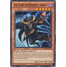 The Agent of Entropy - Uranus DUEA-EN036 - Common Duelist Alliance Card