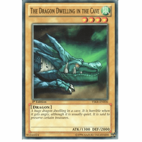 The Dragon Dwelling in the Cave YSKR-EN006 - YuGiOh Common Card