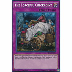The Forceful Checkpoint TDIL-EN080 Secret Rare - YuGiOh The Dark Illusion Card