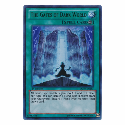 The Gates of Dark World LCJW-EN253 - YuGiOh Joey's World Ultra Rare Card