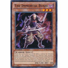 The Immortal Bushi SDWA-EN014 - YuGiOh Samurai Warlords Common Card