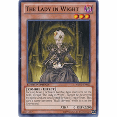 The Lady in Wight GLD5-EN022 - YuGiOh Haunted Mine Common Card