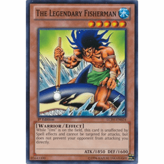 The Legendary Fisherman LCJW-EN024 - YuGiOh Joey's World Common Card