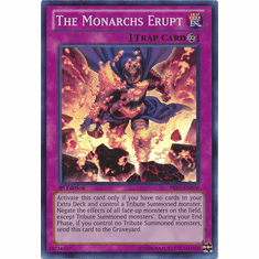 The Monarchs Erupt PRIO-EN076 - YuGiOh Primal Origin Super Rare Card