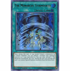 The Monarchs Stormforth LCKC-EN093 Ultra Rare - Legendary Collection Kaiba