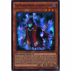 The Phantom Knights of Ancient Cloak WIRA-EN001 Ultra Rare - YuGiOh Wing Raiders Card
