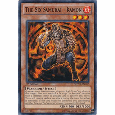 The Six Samurai - Kamon SDWA-EN007 - YuGiOh Samurai Warlords Common