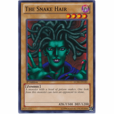 The Snake Hair LCJW-EN185 - YuGiOh Joey's World Common Card