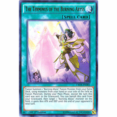 The Terminus of the Burning Abyss CROS-EN085 Ultra Rare - YuGiOh Crossed Souls Card