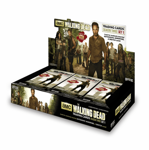 The Walking Dead Season 3 Booster Box