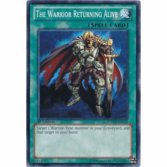 The Warrior Returning Alive SDWA-EN026 - YuGiOh Samurai Warlords Common