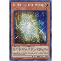 The White Stone of Ancients LCKC-EN011 Secret Rare - Legendary Collection Kaiba